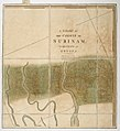 A chart of the colony of Surinam, on the coast of Guyana. RMG K1122.jpg