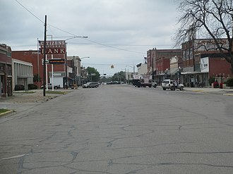 Hillsboro, Texas - Downtown Hillsboro