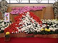 A map of Korea displayed during the Yeongam Wangin Chrysanthemum Festival (4459422768).jpg