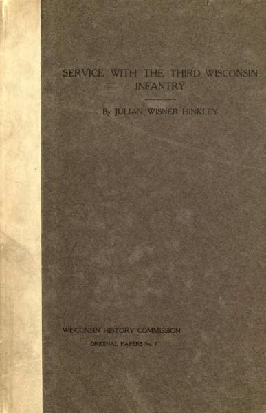 File:A narrative of service with the Third Wisconsin Infantry.djvu