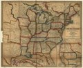 A new map of the United States. Upon which are delineated its vast works of internal communication, routes across the continent etc. LOC 98688314.tif