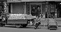 A woman is selling fruits in the street.jpg