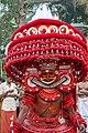 Aadimooliyaadan Theyyam at Edakkad 1.jpg