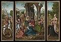 Aanbidding door de koningen, Meester van de Aanbidding te Antwerpen, 16de eeuw, Koninklijk Museum voor Schone Kunsten Antwerpen, 208-210.jpg