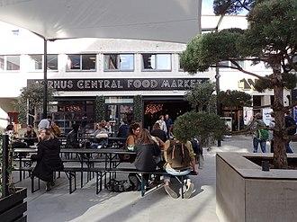Ryesgade, Aarhus - Aarhus Central Food Market, a food court from 2016.