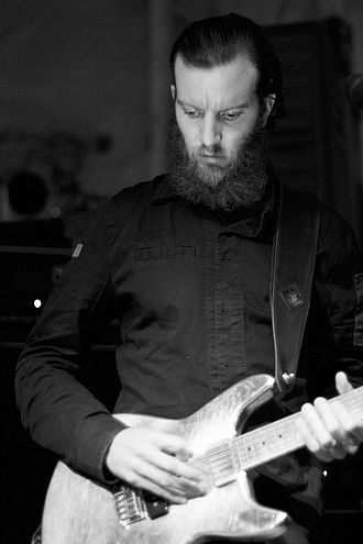 Isis (band) - Aaron Turner, guitarist and vocalist.