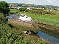 Abandoned boat at Velator Quay - geograph.org.uk - 1358614.jpg