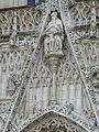 Abbeville - Eglise Saint-Vulfran - Parvis Saint-Vulfran - ancienne Collégiale (5-2016) P1040160.jpg