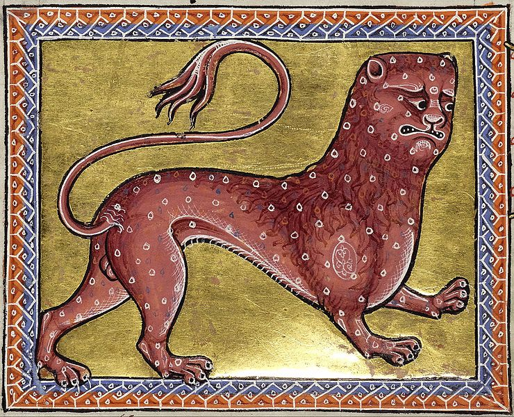 Painting of a medieval Pard.