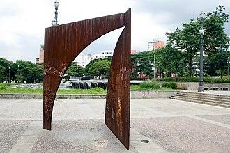 Praça da Sé - Image: Abertura, Amilcar de Castro (5878152084)