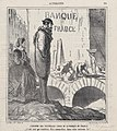 About the Bank of France's new cellars- I wouldn't mind being the sommelier in that house!, from 'News of the day,' published in Le Charivari, February 16, 1866 MET DP877445.jpg