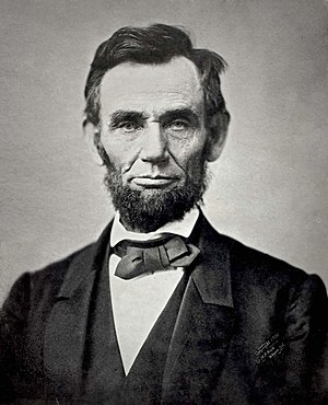 Boston Hymn - Abraham Lincoln in 1863, the year he issued the Emancipation Proclamation