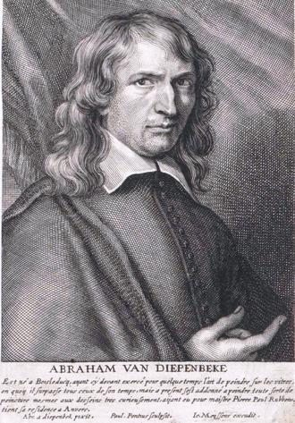 Abraham van Diepenbeeck - Abraham van Diepenbeeck in Het Gulden Cabinet, p 285