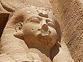 Abu Simbel temple queen pavilion maidservent face.jpg