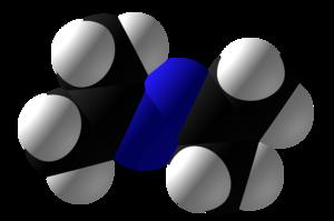 Acetone azine - Image: Acetone azine Space Fill