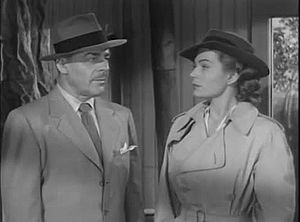 Kristine Miller - Kristine Miller and Brian Donlevy in Dangerous Assignment