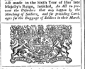 Acts and statutes made in a Parliament begun at Dublin, the twelfth day of November, Anno Dom Fleuron T126993-26.png