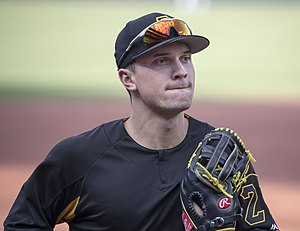 Adam Frazier - Frazier with the Pittsburgh Pirates