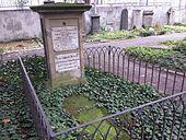 Grab von Adele Schopenhauer und Auguste Dernen (geb. Mertens-Schaaffhausen) auf dem Alten Friedhof in Bonn (Quelle: Wikimedia)