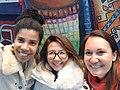 Adele Vrana, Christine Ahn and Siko Bouterse.jpg