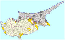 Geography of cyprus wikipedia administrative map of cyprus sciox Gallery