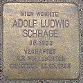Adolf Ludwig Schrage - Rehmkoppel 19 (Hamburg-Wellingsbüttel).Stolperstein.crop.ajb.jpg