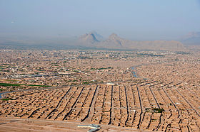 Aerial view of a section of Kandahar in 2013.jpg