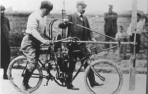 Ernest Archdeacon - Archdeacon's 'Aéro-Moto-Cyclette', September 1906