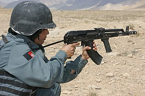 Afghan Female Police Train on Weapons (5037939235).jpg