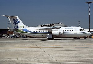 Air Jet BAe 146-200QC Bidini.jpg
