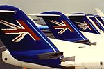 Air UK F100 line-up (15938356620).jpg