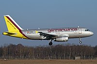 D-AGWE - A319 - Germanwings