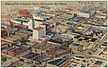 Airplane view of Business District, Albuquerque, New Mexico.jpg