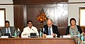 """Ajit Singh addressing at the signing ceremony of the """"Arrangement for Cooperation on Civil Aviation"""" between India and New Zealand, in New Delhi. The Minister of Economic Development and Tertiary Education, New Zealand.jpg"""