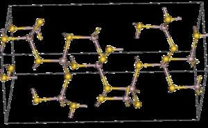 Aluminiumsulfid-Struktur