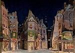 Al quartiere latino, bozzetto di Adolf Hohenstein per La Bohème (1896) - Archivio Storico Ricordi ICON000086 - Restoration.jpg