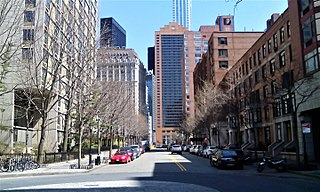 Street in Manhattan, New York