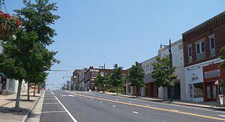 City in North Carolina, United States