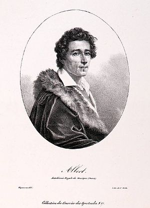 Albert (dancer) - Albert, de l'Académie royale de Musique (c 1830).
