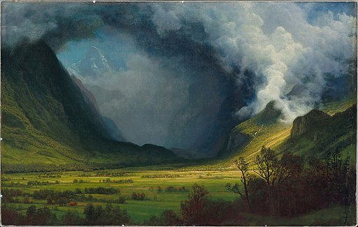 Albert Bierstadt - Storm in the Mountains - 47.1257 - Museum of Fine Arts