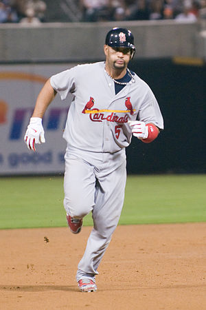 St. Louis Cardinals - Albert Pujols is one of the most accomplished players in Cardinals' history.