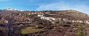 Albertacce - Panorama of Pietra-Zitamboli