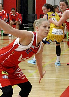 Alda Leif Jónsdóttir Icelandic basketball player