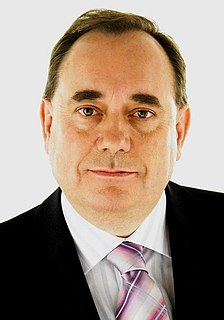 Alex Salmond Former First Minister of Scotland