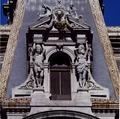 Alexander Milne Calder sculptures in a corner pavilion of City Hall, Philadelphia, Pennsylvania LCCN2011633568.tif