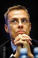 Alexander Stubb, Finlands utrikseminitser vid Nordiska radets session i Helsingfors 2008-10-27.jpg
