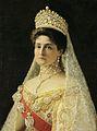 Alexandra Feodorovna after Repin (?) (1896, Hillwood museum).jpg
