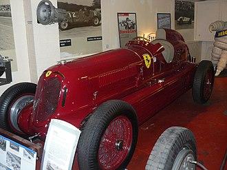 Alfa Romeo 8C - 1935 Alfa Romeo Bimotore Scuderia Ferrari