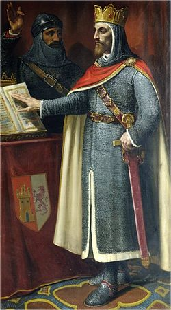 Резултат с изображение за king alfonso vi of castile