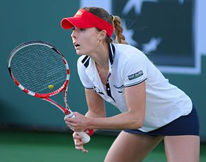 Alizé Cornet - Cornet at the 2013 BNP Paribas Open